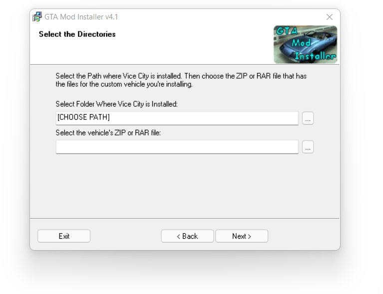 GTA Mod Installer v4.1